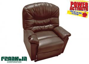 Hammond lift recliner - brown