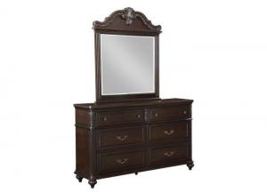 Nottingham dresser/mirror