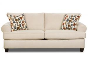 Plush contemporary sofa!