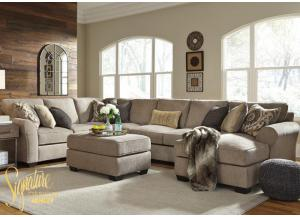 Pantomine right chaise sectional