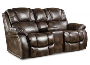 Randolph loveseat - chocolate