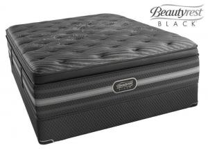 Simmons Beautyrest Black Natasha Plush Pillow Top - twin long