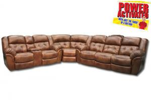 Abilene POWER reclining sectional