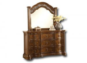 Pantheon dresser/ mirror