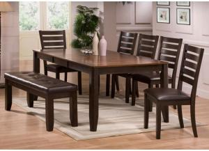 Hennesy 6 Piece Dining Room