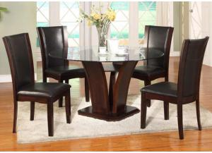 San Sorento 5 Pc Dining Room- Espresso