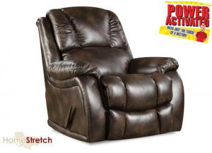 Randolph POWER rocker recliner - chocolate