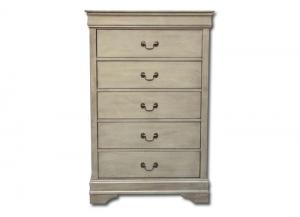 Louis Philippe chest - gray