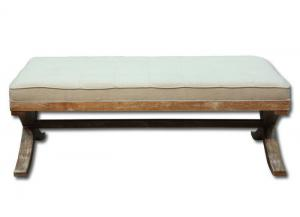 Brittany ottoman - natural