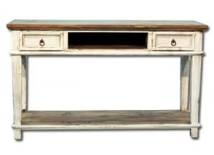 Europa Antique Console - white