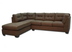 Maier Left Chaise-Style Sectional - Walnut