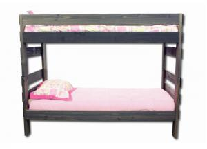 Duncan Twin/ Twin Bunk bed - Walnut