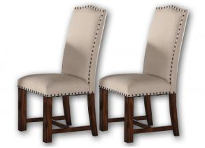 Astor upholstered side chairs