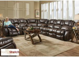 Randolph sectional - chocolate