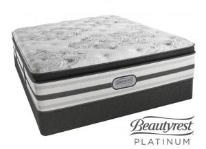 Simmons Beautyrest Columbus Plush Pillow Top Queen Set