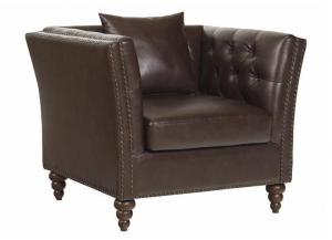 Westerly chair - chocolate