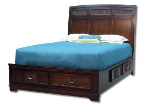 Laurette king storage bed