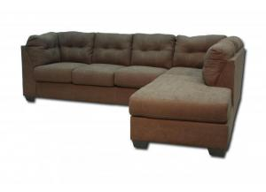 Maier Right Chaise-Style Sectional - Walnut
