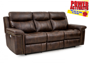 Phoenix POWER reclining sofa