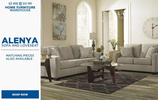 Alenya Quartz Sofa and Loveseat