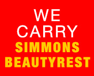 We Carry Simmons Beautyrest