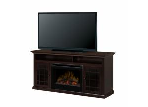 Hazelwood Media Console Electric Fireplace,dimplex