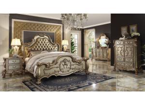 Irving Blvd Furniture Dresden Gold Patina Chest