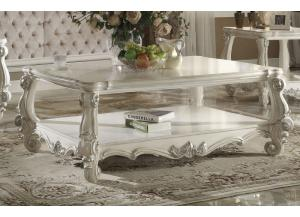 irving blvd furniture versailles vintage antique white coffee table
