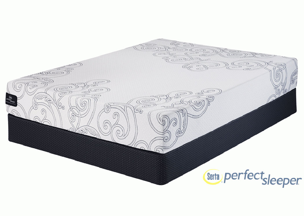 Perfect Sleeper Kellerman Gel Memory Foam Twin Mattress,Serta