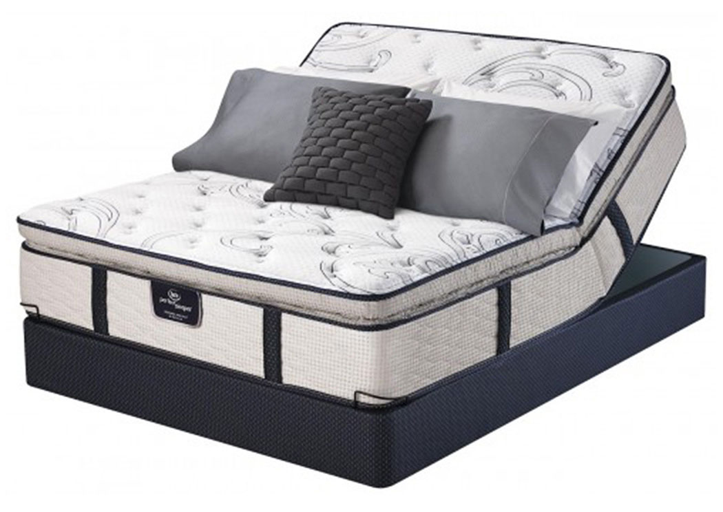 Perfect Sleeper Eastport Super Pillow Top Queen Mattress,Serta