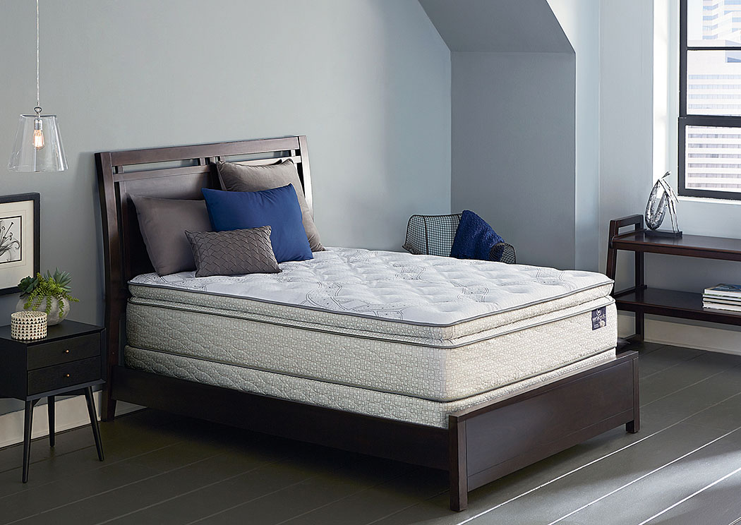 SertaPedic Yorkville Super Pillow Top Queen Mattress,Serta