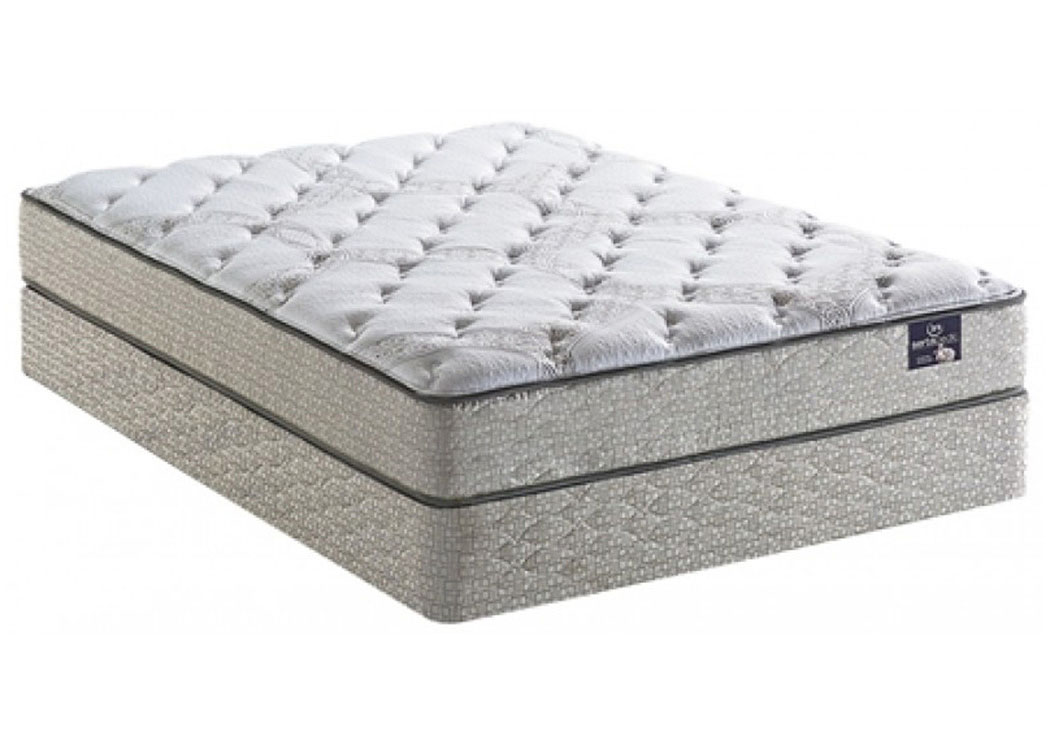 SertaPedic Yorkville Plush Queen Mattress,Serta