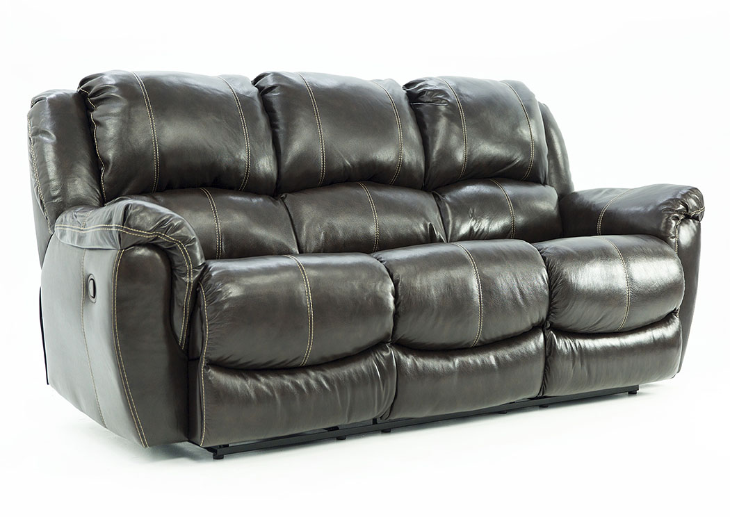 HADLEY COFFEE BEAN RECLINING SOFA,HSTR