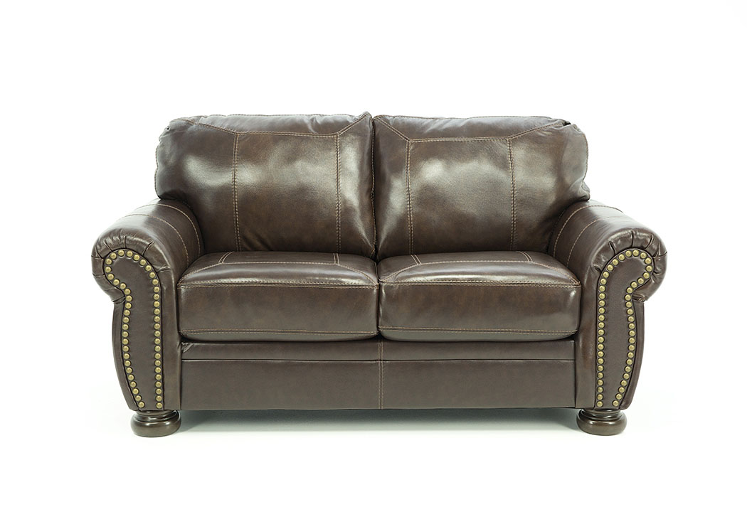 BANNER COFFEE LOVESEAT,ASHL