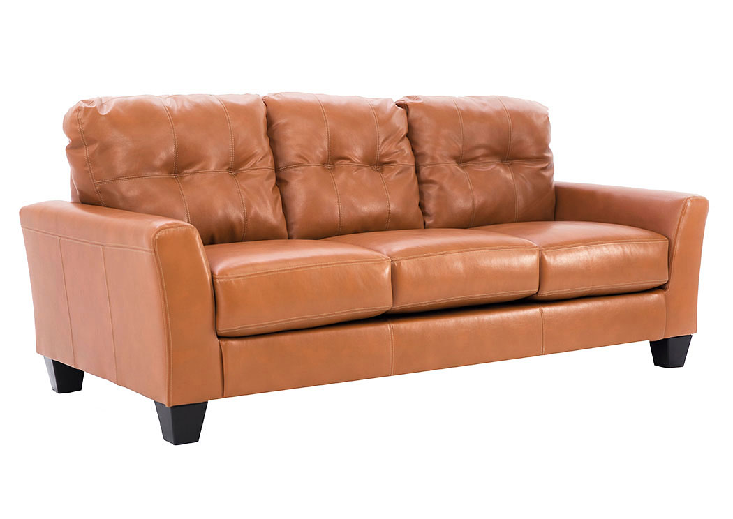 PAULIE ORANGE SOFA,ASHL