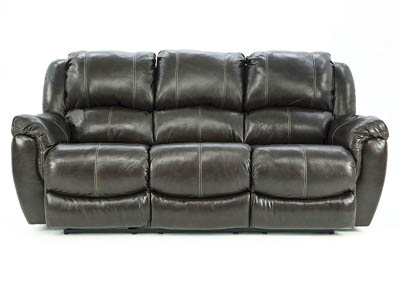 HADLEY COFFEE BEAN RECLINING SOFA