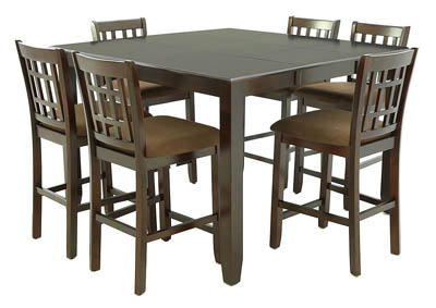 BENJAMIN 7 PC DINING SET