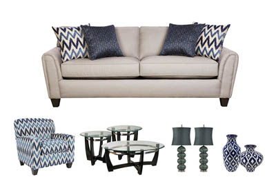 GOLDMINE SLATE LIVING ROOM GROUP