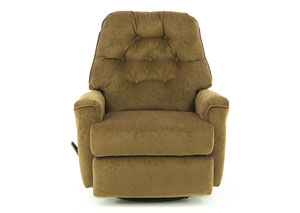 CARA WALNUT SWIVEL RECLINER