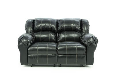 JACE TAOS BLACK RECLINING LOVESEAT