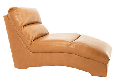 PAULIE ORANGE CHAISE