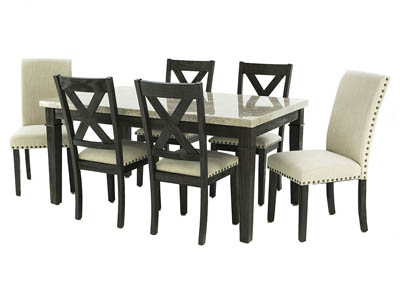 GREYSTONE 7PC DINING SET