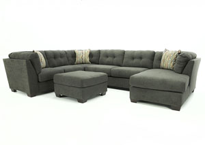 DELTA CITY STEEL 3PC SECTIONAL