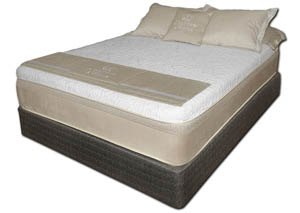 Chattam and Wells Hybrid Latex King Mattress Set