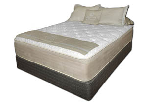 Chattam and Wells Plush King Mattress Set
