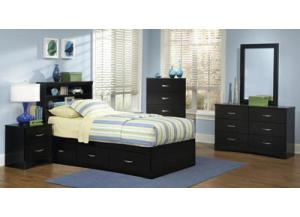 Jacob/Black Twin Mated bed,Kith