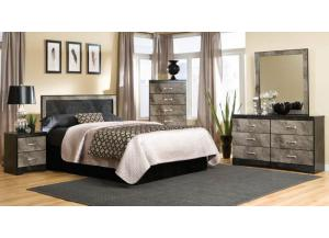 Memphis King Panel Headboard with Frame,Kith