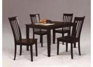 Brody 5 Piece Dining Set,Crown Mark
