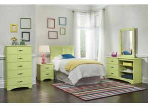 Color Splash/Lemon Lime Nightstand,Kith