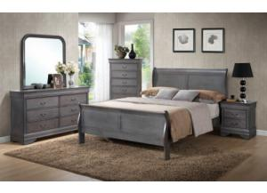 Driftwood Grey 5 Drawer Chest,Clark Piedmont